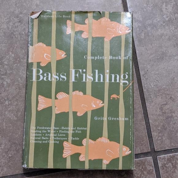 Vintage Bass Fishing Book